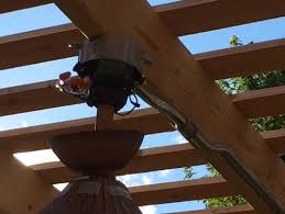 Ceiling Fan Hanger Bar by Need Help Mounting Our New Outdoor Ceiling Fan Under Our Pergola