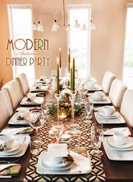 warm modern autumn dinner hostess with the mostess