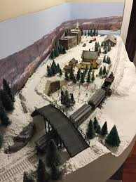 the valley local diorama done merry christmas
