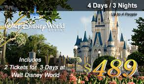 disney world vacation promotions