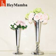 Silver Vases Popular Silver Vases For Wedding Centerpieces Buy Cheap Silver