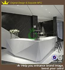 Marble Reception Desk 2015 Morden Design Artificial Marble Reception Desk For Office