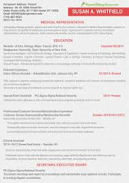 Resume Medical Representative Update Your Cv In The Latest Cv Format 2013 Resume Editing Service