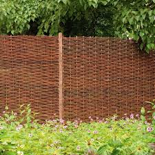 Rustic Trellis Panels Removable Willow Fence Panels Golf Club Pinterest Willow