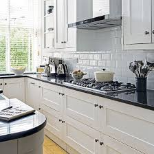 black and white tile kitchen ideas white kitchen with black worktop beautiful kitchen kitchens and