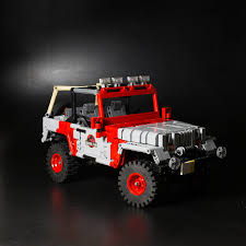 jurassic world jeep toy jurassic park jeep lego technic mindstorms u0026 model team