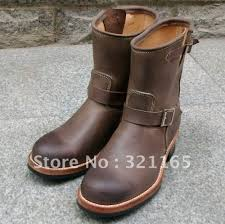 online shop hand tailored men u0027s engineers boots aliexpress mobile