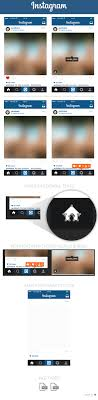instagram layout vector illustrator free instagram home layout ui psd may 2015 marinad