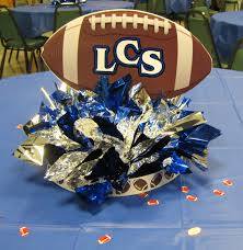 football centerpieces images about sports banquet on football