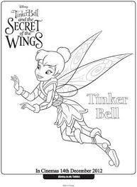 fairy colouring pages