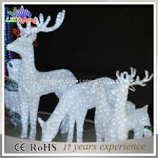china outdoor white lighted reindeer for led christmas decorations