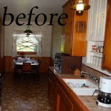 Painted Kitchen Cabinets Before After How To Paint Kitchen Cabinets