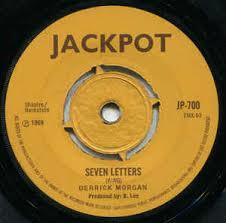 derrick morgan seven letters too bad vinyl at discogs