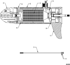 mercury trolling motor motorguide wireless series 9b920032