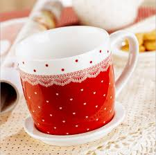 Heart Shaped Mug Mug Cover Picture More Detailed Picture About 2pcs Lot Ceramic