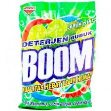 Sabun Boom boom deterjen bubuk jeruk nipis 400g kirim belanja