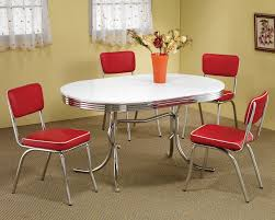 red dining room sets provisionsdining co retro dining room set w red chairs casual dining sets dining