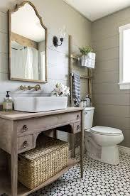 Wood Bathroom Vanity by Best 25 Vintage Bathroom Vanities Ideas On Pinterest Singer
