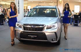 subaru forester lifted launch 2016 subaru forester facelift from rm144 948 wemotor com