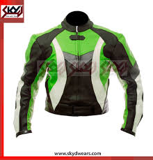 leather racing jacket motorcycle biker suzuki icon gsxr racing white leather jacket