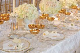 Gold Table Decorations Charming White And Gold Wedding Table Decorations 82 About Remodel