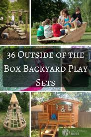 Ultimate Backyard Playground Ultimate Play Time 36 Outside Of The Box Backyard Play Sets