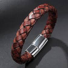 mens clasp bracelet images Mozo fashion cool men jewelry vintage bracelet handmade braided jpg