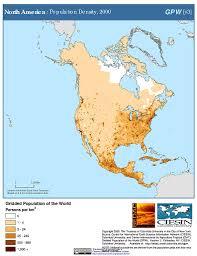 North America On Map by Maps Population Density Grid V3 Sedac