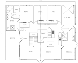 basic home floor plans the western classic sle interior floor plans