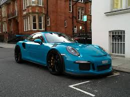 porsche blue paint code miami blue porsche 911 gt3rs startup and driving around youtube