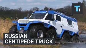 amphibious truck for sale russian centipede truck youtube