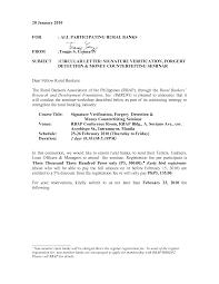 sign verification letter format gallery letter samples format