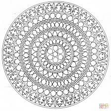 advanced mandala coloring pages best coloring pages