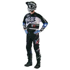 youth motocross jerseys oneal 2016 element afterburner youth jersey pants package black