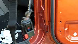 jk wrangler right half door interior panel and door wiring removal