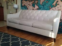 chloe velvet tufted sofa macy s chloe velvet tufted sofa ivory furniture in seattle wa