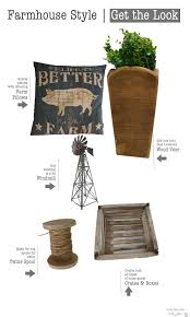 get the farmhouse style country design style