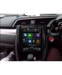 android model honda civic lcd multimedia system android gps tesla style model