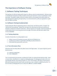 the importance of software testing software testing control flow