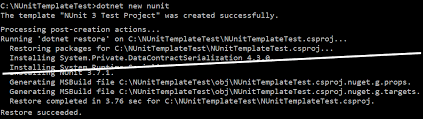 create a custom template for dotnet new microsoft docs