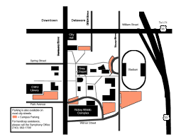 Ohio University Parking Map by Directions Central Ohio Symphony