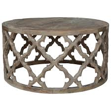 Small Round Side Table by Fontana Coffee Table Oka