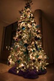 how to put lights on a tree lovetoknow