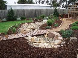Rock Backyard Landscaping Ideas 50 Super Easy Dry Creek Landscaping Ideas You Can Make