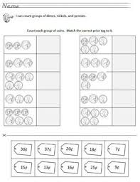 counting pennies nickels dimes lessons tes teach