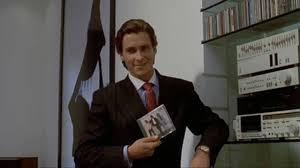 Christian Bale Axe Meme - american psycho do you like huey lewis and the news youtube