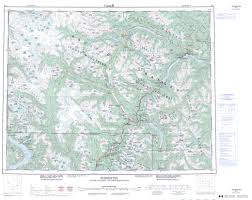 Map Of British Columbia Canada by Printable Topographic Map Of Pemberton 092j Bc