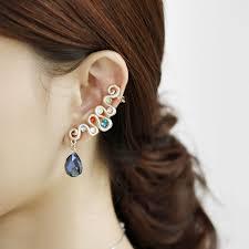 ear wraps and cuffs swirl ear cuff earring ear wrap cuffs ear cuff wraps ear wrap cuff e