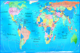 World Map Countries World Map With Countries Free Large Images