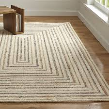 Rug And Tug Ellwood Wool Blend Loop Rug Crate And Barrel